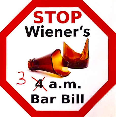 We have STOPPED the 3 a.m. nee 4 a.m. bar bill!