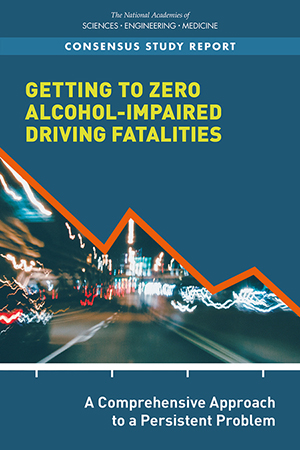 cover of the national academy of sciences report on drunk driving deaths
