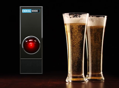The EtOHAL9000 automatic alcohol dispenser