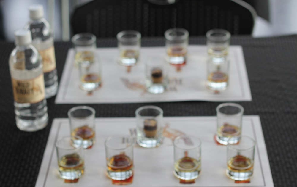Shots of Wild Turkey