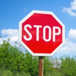 A STOP sign for the Sober Truth On Preventing Underage Drinking act